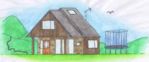 Our first home, also called TerraGlen, in Glencullen